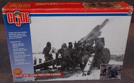 Hasbro 2001 GI Joe Korean War 155 mm Howitzer Cannon In The Box 1/6th Scale - $199.99