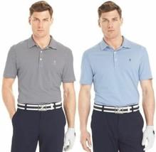 Izod Men's Tour Plus Greens Feeder Short Sleeve Striped Golf Polo - NWT - $14.99