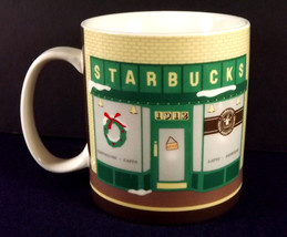 Pike Place Starbucks Coffee Large Mug Cup 2007 Japan Porcelain Collector... - $29.69