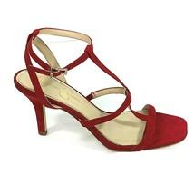 "Jessica Simpson 3.75"" Heels Faux Suede Sandals Women Size 9 M 40 Strappy... - $19.79"