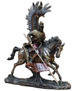 Unique Polish Hussar Winged Cavalry Bronze * ** Free Shipping Everywhere... - $199.00