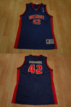 Youth Detroit Pistons Jerry Stackhouse L (14/16) Champion Vintage Jersey... - $16.82