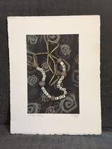 "Naomi Savage Photograph 1999 Museum Photo ""Greed will impoverish you"" r... - $2,111.43"