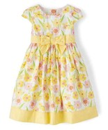 NWT Gymboree Spring Jubilee Girls Yellow Floral Dress 2T 3T 4T  - $12.99