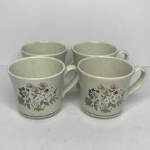 Set Of 4 Coffee Mugs Cups Royal  Doulton Lambethware BREDON HILL Pattern... - $11.83