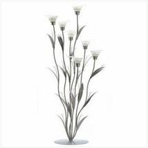 Silver Calla Lily Candleholder  - $56.99