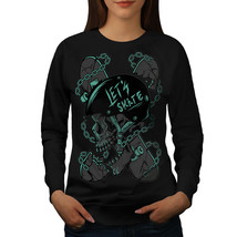 Skateboard Head Skull Jumper Skull Dead Women Sweatshirt - $18.99