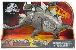 2019 Mattel Jurassic World Dual Attack Stegosaurus Figure - $39.55