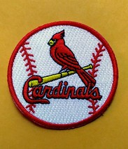ST. LOUIS CARDINALS    iron on embroidered embroidery patch baseball  logo mlb - $10.95