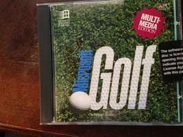 golf games cd by microsoft - $1.99