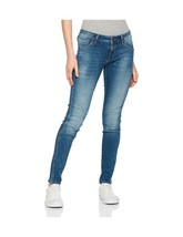 Mavi Serena, Women's Low Rise Super Skinny Jeans Blue (Deep Shaded Glam ... - $80.74