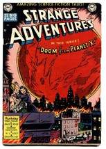 STRANGE ADVENTURES #2 comic book Kirby-Virgil Finlay 1950 Golden-Age - $266.75