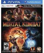 Mortal Kombat - PlayStation Vita [video game] - $63.65