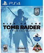 Rise of the Tomb Raider: 20 Year Celebration - PlayStation 4 [video game] - $17.49