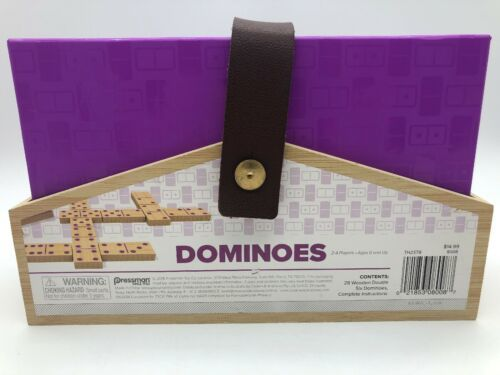 NEW Pressman Designer Classics Dominoes Game image 4