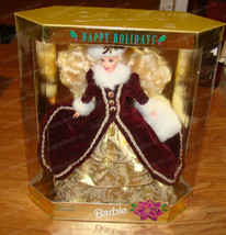 Special Edition 1996 Happy Holiday Barbie Doll (Mattel, 15646) - $38.12