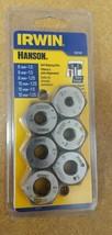 IRWIN 6-Piece Metric Tap and Die Set Steel Tool Repair Thread self-alinging  - $24.99