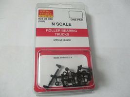 Micro-Trains Stock # 00302030 (1031)  Roller Bearing Trucks Without Coupler (N) image 4