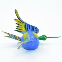 Oaxacan Alebrijes Folk Art Humming Bird Hummingbird Bobble Head Figure image 4