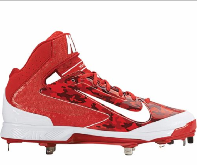 reputable site e23d8 5e35f S l1600. S l1600. Nike Air Huarache Pro Mid Metal Baseball Cleats Brand New  Nike Camo Cleats 12