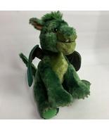Build A Bear Pete's Green Dragon Elliot Limited Edition Plush Stuffed An... - $26.73