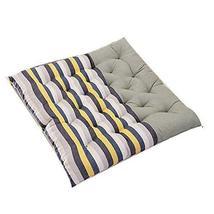 Panda Superstore Comfortable Stripe Pattern Soft Cotton Cushion Mat Chair Pad