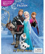 Disney Frozen My Busy Books Playset Figurines Playmat Storybook Set  - $15.99