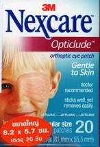 Nexcare 3M Opticlude Orthoptic Eye Patch Regular Size 1 Box 20 Pcs Expir... - $9.99