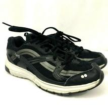Ryka Stance SMT Womens Sneaker Shoes Size 6.5 Medium Black Gray - $31.71