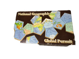 Vintage 1987 National Geographic Global Pursuit Board Game - 100% Complete - $10.20