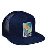 Channel Islands National Park Trucker Hat by LET'S BE IRIE - Blue Denim ... - £17.26 GBP