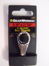 "Gearwrench 81787 3/8"" x 7/16"" Offset Box Wrench Full Polish - $2.48"