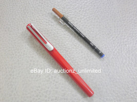 Pierre Cardin Anaaya Roller Ball Point Pen Ballpen Red Worldwide Free Sh... - $7.49