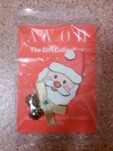 Avon Gift collection bell buddy holiday magnet Santa clause Christmas ji... - $6.99