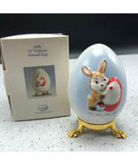 2008 GOEBEL ANNUAL EASTER EGG West Germany 31st edition figurine 102662 ... - $29.65