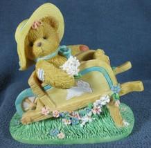 Cherished Teddies Gathering Blooms of Friendship #103810 Resin Figurine ... - $10.53