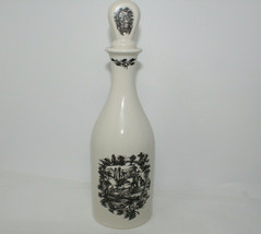 Vintage Limited Edition COALPORT Made in England Bottle Decanter with Lid - $12.50