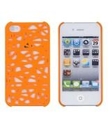 Neon Orange Birds Nest Case for Apple iPhone 4, 4S (ATT, Verizon, Sprint... - $12.26