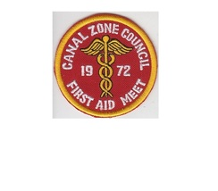 Boy Scouts of Canal Zone Panama BSA CZ Council First Aid Meet 1972 Escuteros de  - $9.99