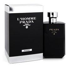 Prada L'Homme Prada Intense 5.1 Oz Eau De Parfum Cologne Spray image 3