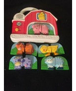 LEAP FROG Fridge Phonics Farm Barn Animal Matching Game COMPLETE BATTERI... - $20.53