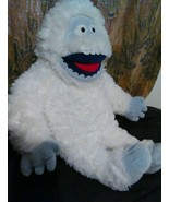 Abominable Snowman stuffed Animal Plush Rudolph Toy Bumble Build Bear Ch... - $34.99