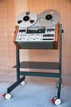 NEW CUSTOM MADE Cart Stand Plywood Side Panels for Revox PR-99 Reel Reco... - $355.36