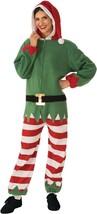 Rubies Elfo Papá Noel Ayudante Adulto Jersey Navidad Vacaciones Disfraz ... - $41.99
