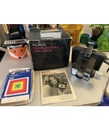Polaroid Land Camera Square Shooter 2 W/Instructions, Box, And Flash Cubes - $14.50