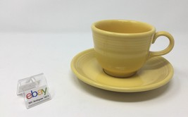 Fiesta Sunflower Yellow Cup and Saucer - $5.99