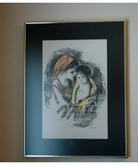 "Sandu Liberman (M. Maurice) ""Mother & Child"" Ar... - $400.00"