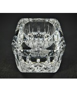 Waterford Crystal Square Votive Taper Candle Holder NEW w/o Box. Has WFD... - $43.16