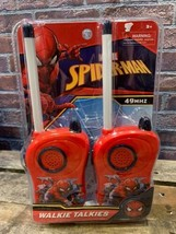 Marvel Spider-Man Walkie-Talkies Neuf Jouet - $10.39