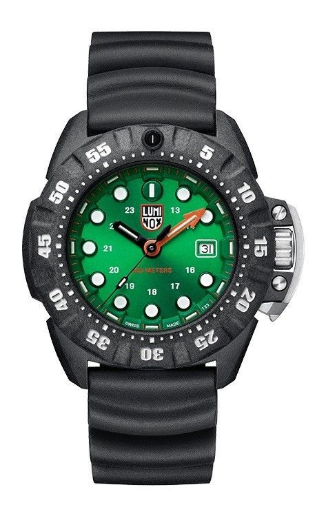Luminox Scott Cassell Deep Dive 300 meters Bezel lock Mens watch XS1567